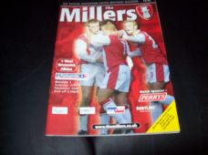 Rotherham United v West Bromwich Albion, 2001/02